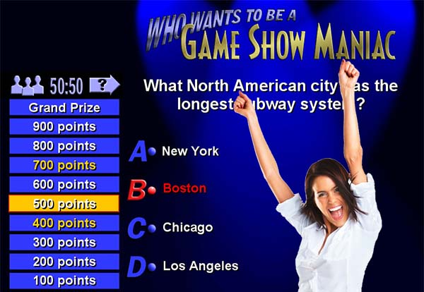 Educational and Training Game Show Productions
