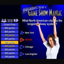 Millionaire Style Game Show